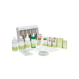 Clean + Easy Waxing Spa Full Service Kit, 240V International Version