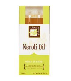 Medium Neroli Oil Wax Refill - 3 pk