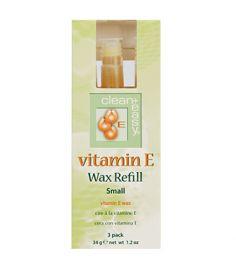 Small Vitamin E Wax Refill - 3 pk