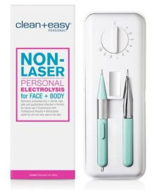 Clean + Easy Personal Electrolysis for Face and Body