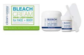 Bleach Cream Hair Lightener For Face + Body