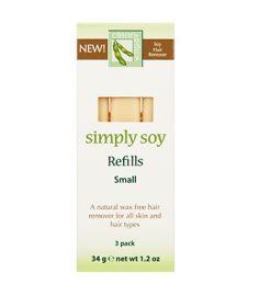 Small Simply Soy Refill - 3 pk