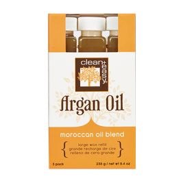 Large Argan Oil Wax Refill - 3 pk