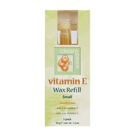 Small Vitamin E Wax Refill - 3 pk